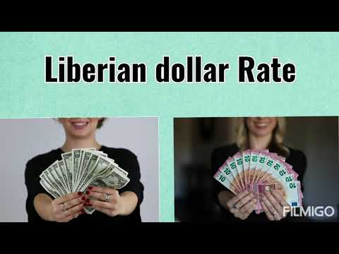 Forex currency exchange rate in Liberia | US Dollar to Liberian dollar | Liberian dollar exchange