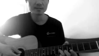 cách chơi guitar intro bolero ở tông la thứ áp dụng cho mọi bài hát