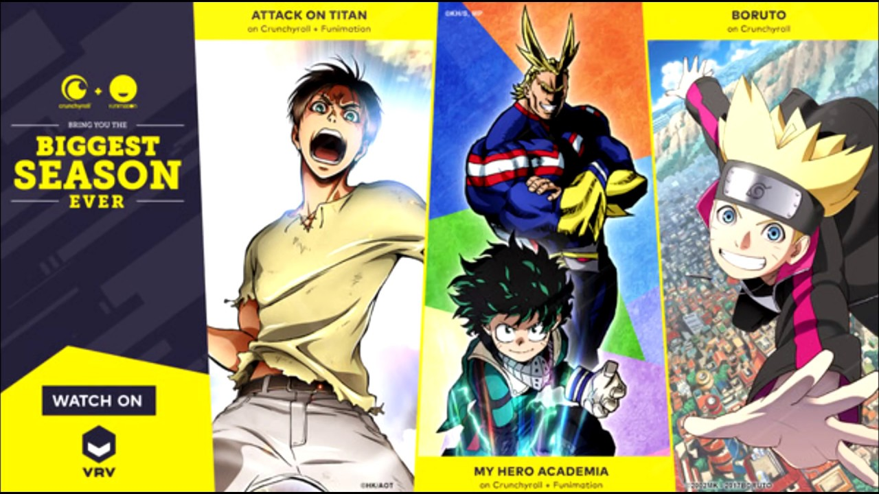 Watch anime Online - VRV