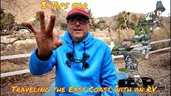 3 Tips for traveling up the East Coast in your RV