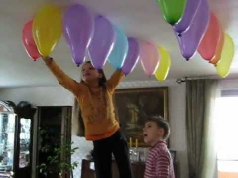 Balloon Hanging Idea Youtube