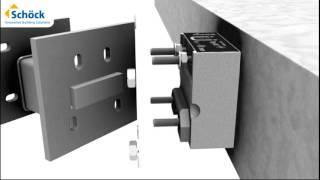 Animation of Schöck Isokorb® Type KS
