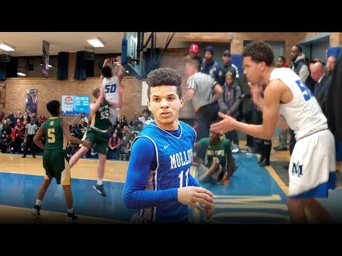 Cole Anthony Throws Down MONSTER PUTBACK While Crowd Chants WE CANT HEAR YOU! Molloy DOMINATES!
