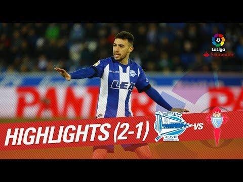 Resumen de Deportivo Alavés vs RC Celta (2-1)