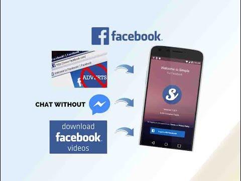 [Android] Cách Sử dụng Facebook không cần tải thêm Messenger, Tải video, chặn quảng Cáo