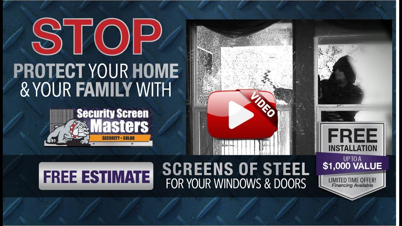 Security Screen Masters Las Vegas Youtube