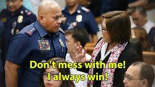 "Bakit supalpal ang PNP ni PDu30 sa ""BUNGANGERANG"" si De Lima?"