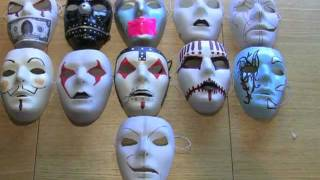 Modified Blank Masks And More! (Slipknot, Hollywood Undead)