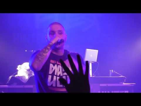 Fler - CEO Live in Stuttgart im Zapata (Hinter Blauen Augen Tour 2012)