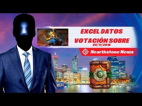 Sobre adicional en el lanzamiento de expansión y Excel de Datos (Hearthstone News #5)