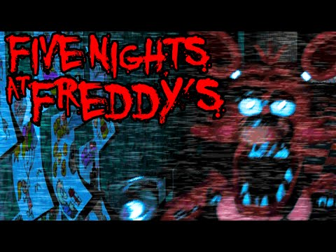 Five Nights at Freddy's: Foxy Attacks! Pirate Cove Scary Horror PART 4 Gameplay Walkthrough Night 4