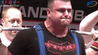 Volodymyr Svistunov - 1137.5kg 1st Place 120+kg - European Open Powerlifting Championship 2018