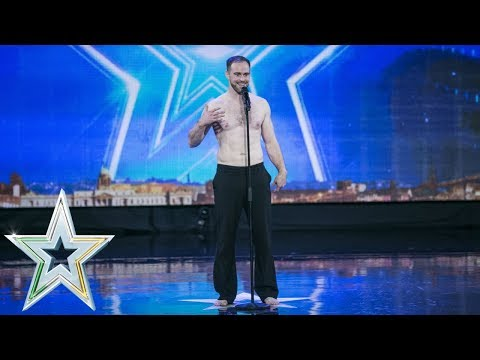 Download Youtube: Ronan Brady delivers a fascinating performance  | Auditions Week 7 | Ireland's Got Talent 2018