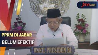 Saran Ma'ruf Amin untuk Atasi Covid-19 di Jawa Barat - JPNN.com
