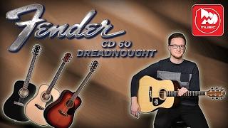 �������� ���� FENDER CD-60 - одна из лучших акустических гитар своей ценовой категории ������