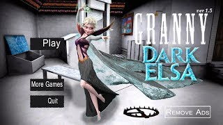 WHAT IF GRANNY WAS ELSA? | Granny (Horror Game)