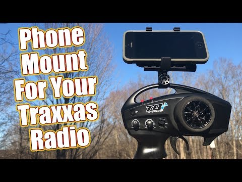 Easy Dashboard Access - Traxxas TQi & Aton Transmitter Phone Mount Product Focus | RC Driver