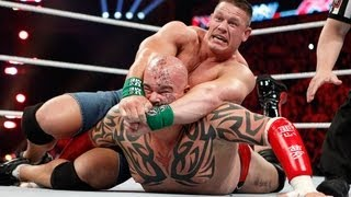 John Cena vs. Lord Tensai - Extreme Rules Match: Raw, April 16, 2012