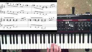 "How to play ""Yesterday"" by Atmosphere - piano tutorial"