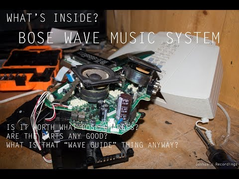 What's Inside? - Bose Wave Music System Teardown