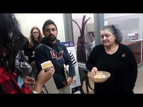 UMass Amherst GEO workers demanding increased wages on Halloween 2017