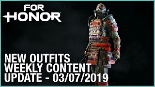 For Honor: New Outfits | Week 03/07/2019 | Weekly Content Update | Ubisoft [NA]