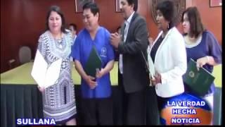MUNICIPALIDAD DE SULLANA ENTREGO RECONOCIMIENTO AL EQUIPO TÉCNICO DEL HOSPITAL VÍCTOR LARCO HERRERA