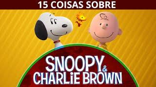 15 COISAS QUE VOCÊ NÃO SABIA SOBRE SNOOPY E CHARLIE BROWN (PEANUTS)(Site: http://marmitextv.com.br Facebook: https://www.facebook.com/marmitextv 1.Charlie Schulz é muito parecido com o´personagem dos quadrinhos Charlie ..., 2015-07-04T14:00:01.000Z)