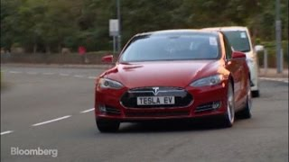 Taking the Tesla Model S Out for a Test Drive in Hong Kong