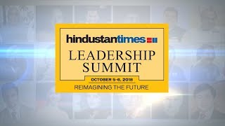 #HTLS2018 Day 1: The 16th Hindustan Times Leadership Summit
