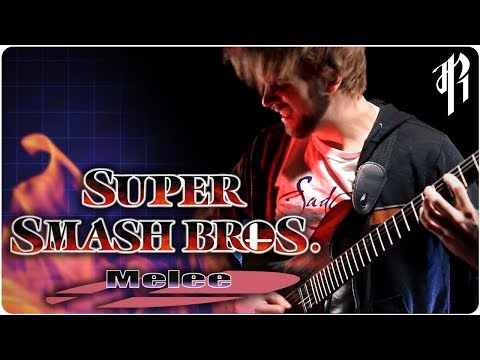 Super Smash Bros. Melee - MENU THEME || Metal Cover by RichaadEB