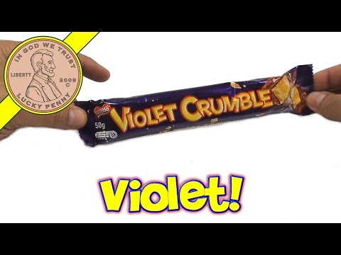 Violet Crumble Candy Bar, Nestle  - It's The Way It Shatters That Matters