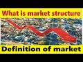 What is Markets structure | Definition of Market in Hindi and Urdu by Tani Forex