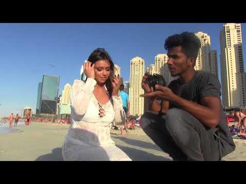 Photo-shoot modèle Leena Dubaï Music Events Agency