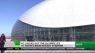Olympic Stage Set: Souped-up hockey stadium ready for the Games