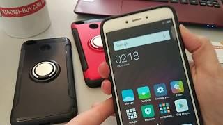 Обзор противоударного бампера с кольцом Xiaomi Redmi 4x