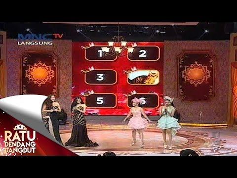 Tantangan Duo Anggrek dan Duo Unyu Unyu - Ratu Dendang Dangdut (10/8)