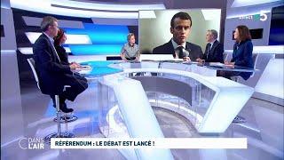Référendum : le débat est lancé ! #cdanslair 04.02.2019