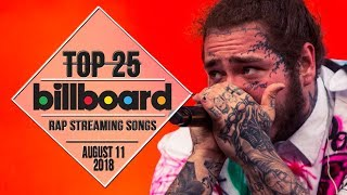 Baixar Top 25 • Billboard Rap Songs • August 11, 2018 | Streaming-Charts