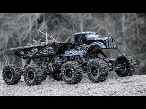 Exceed RC 1/8 Scale 8x8 MadTorque Crawler Truck Overview