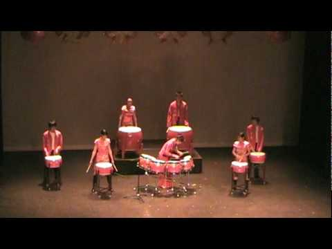 DJ Wind Traditional Chinese Drum show: 龙腾虎跃