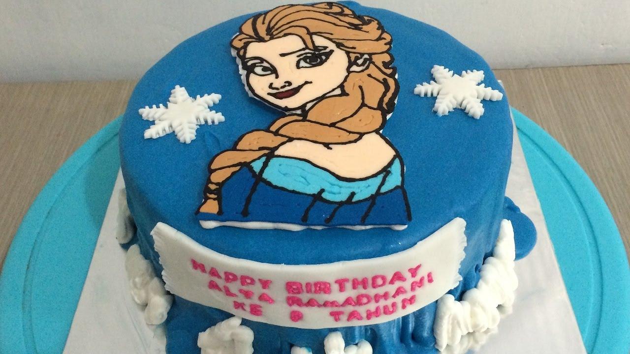 Gambar Cake Frozen Buttercream