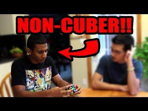 Weird Encounter with a Non-Cuber