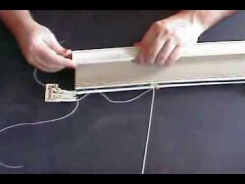 Repair Hunter Douglas Duette Shade Youtube