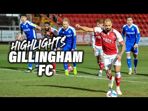 Fleetwood Town Gillingham Goals And Highlights