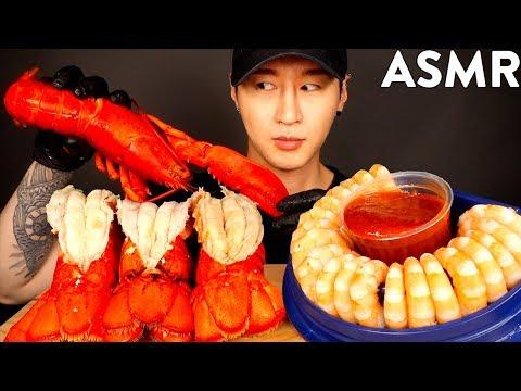 asmr-lobster-&-shrimp-cocktails-mukbang-(no-talking)-eating-sounds- -zach-choi-asmr