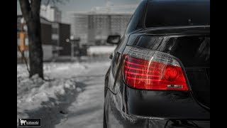 Четкая BMW E60 530d на 370 сил (перезалив)