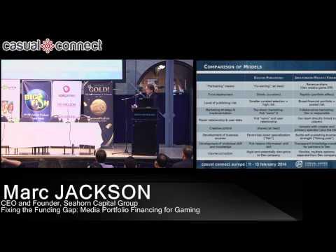 Fixing the Funding Gap: Media Portfolio Financing for Gaming    Marc JACKSON