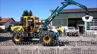 lesní traktory HSM 805, 4 válce