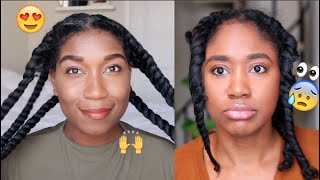 I followed Naptural85's Twistout Tutorial and this happened...|Natural Hair Tutorial
